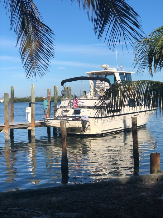 docked at Cabbage Key
